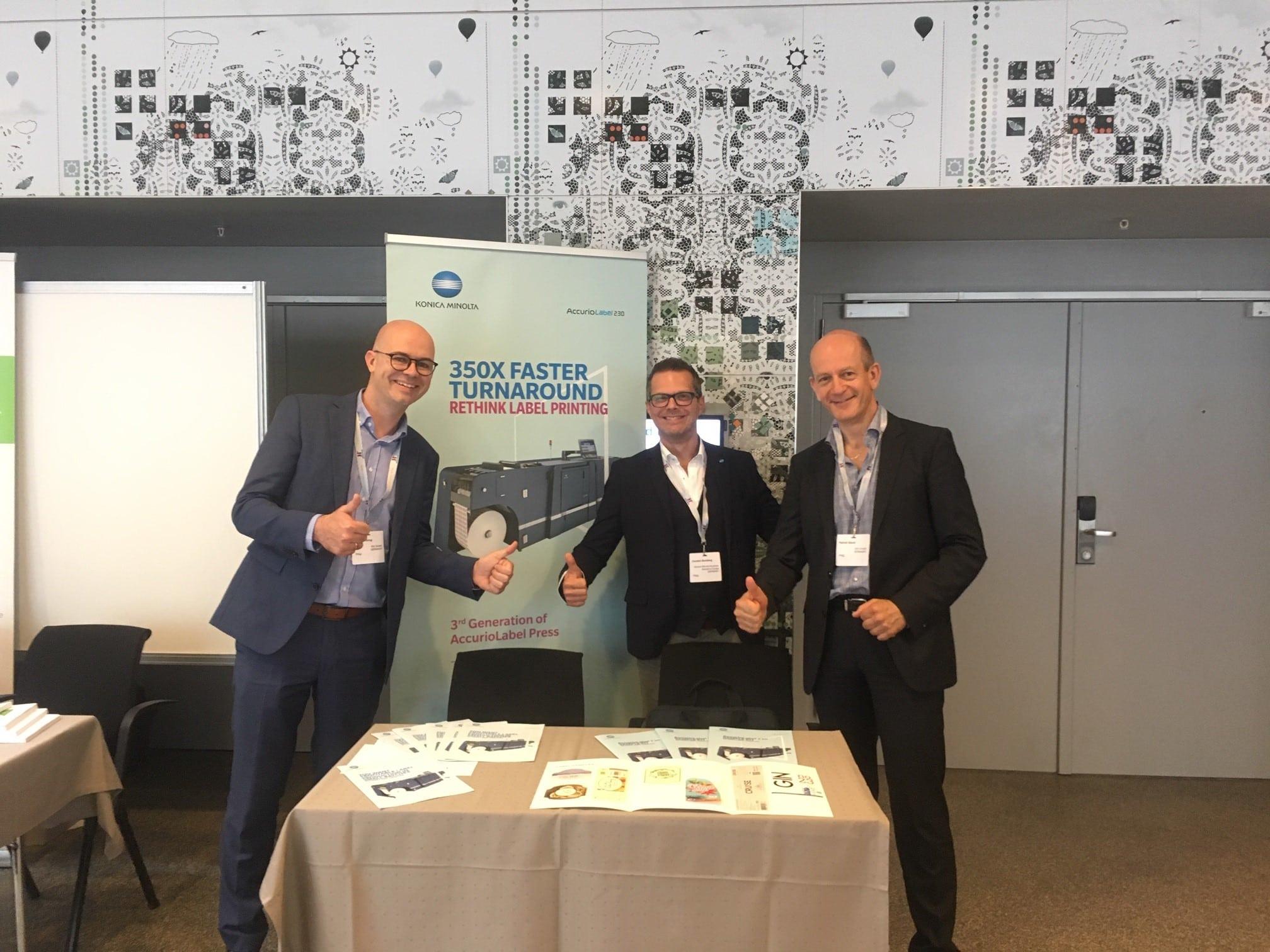 SIHL als Silber Sponsor beim European Label Forum in Kopenhagen