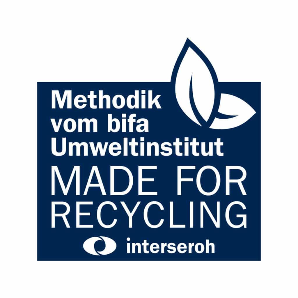 Recycling Siegel interseroh für ARTYSIO