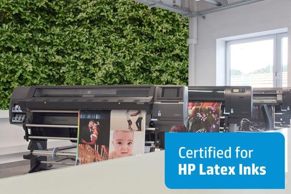 Zertifizierte SIHL Medien für die neue HP Latex Serie 700/800
