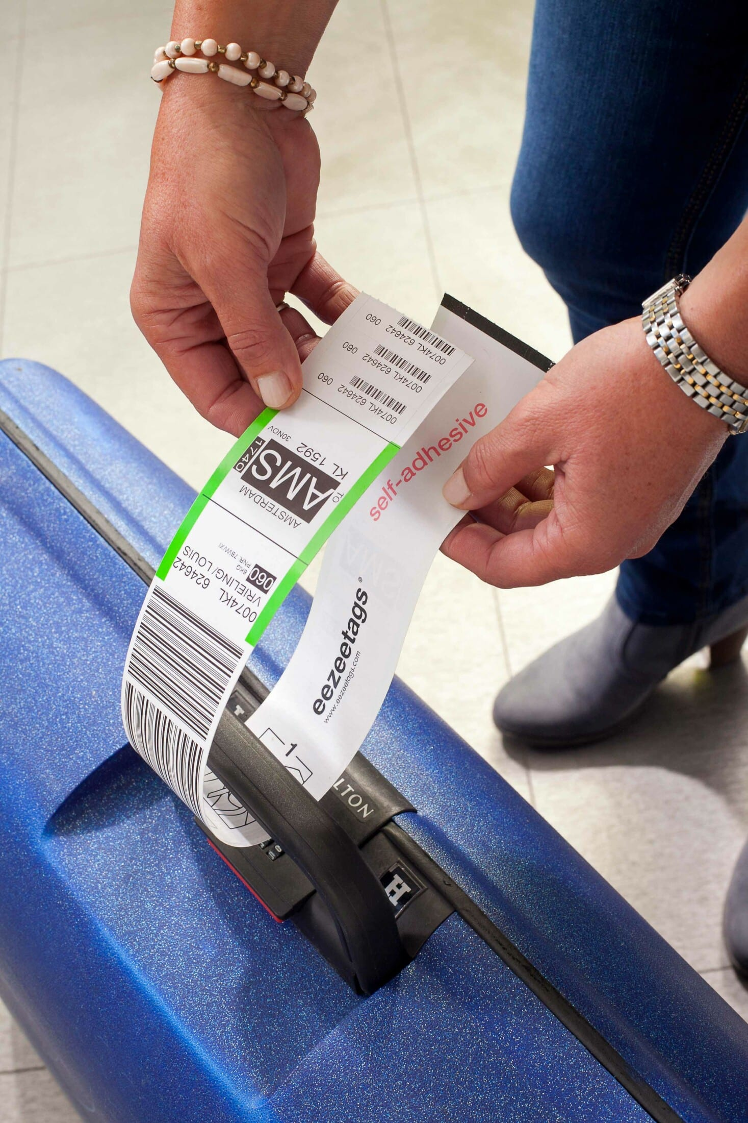 Sihl and eezeetags® – a strong collaboration for future self-service check-in at airports