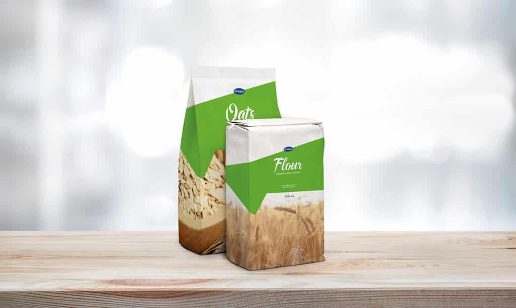 ARTYSIO Packaging Anwendungsbeispiel Mehl