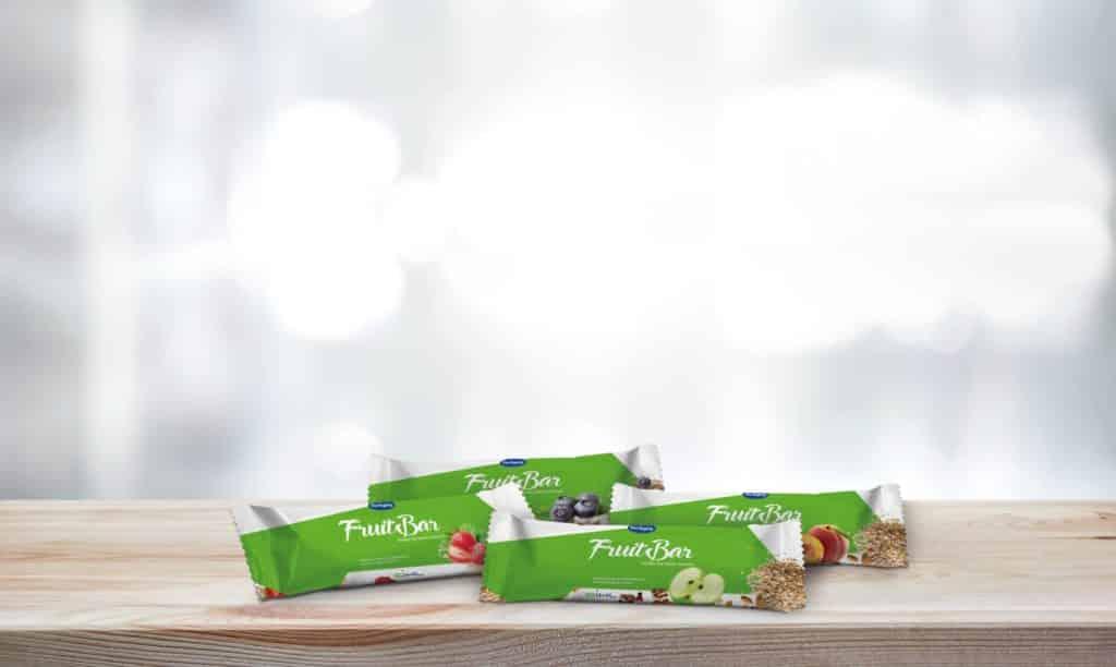 ARTYSIO Packaging Anwendungsbeispiel Fruchtriegel