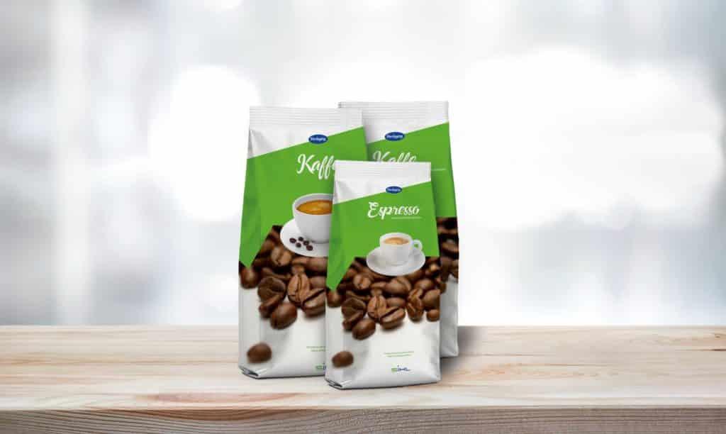 ARTYSIO Packaging Anwendungsbeispiel Standbodenbeutel Kaffee
